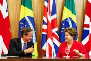 Dilma e Cameron/ foto: Roberto Stuckert Filho - PR