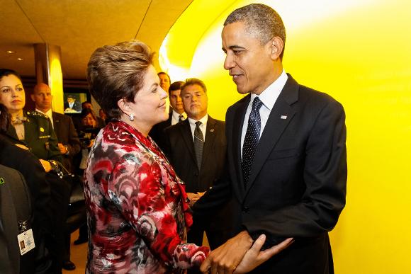 Dilma e Obama/ foto: Roberto Stuckert Filho - PR