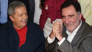 Lula ao lado de Patrus Ananias, candidato do PT à Prefeitura de Belo Horizonte/ foto: Ricardo Stuckert - Instituto Lula