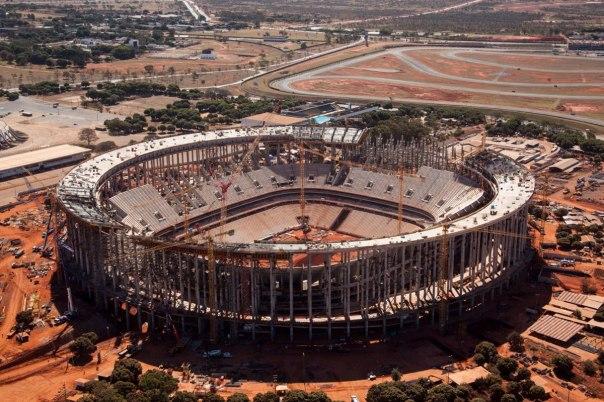 Estádio Nacional de Brasília/ foto: Portal da Copa