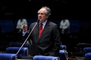 Cristovam Buarque/ foto: Renato Araújo - ABr