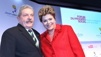 Lula e Dilma na França/ foto: Ricardo Stuckert - PR