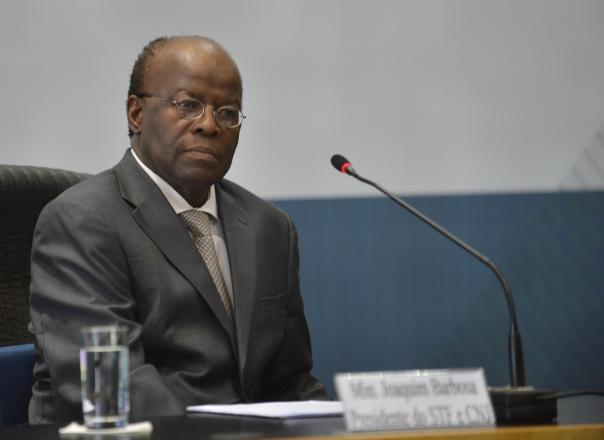 Ministro Joaquim Barbosa, presidente do STF/ foto: Elza Fiuza - ABr