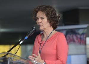 Marta Azevedo, agora ex-presidente da Funai/ foto: Elza Fiuza-ABr